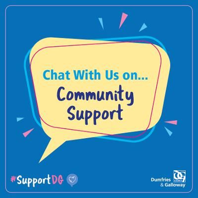 An image relating to Chat with us on - Community Support