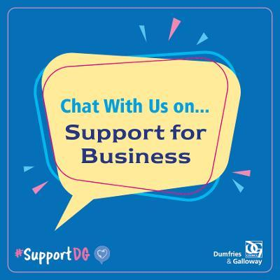 Chat with us on - Businesses Icon